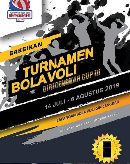 Turnament Bola Voli Giricengkar CUP