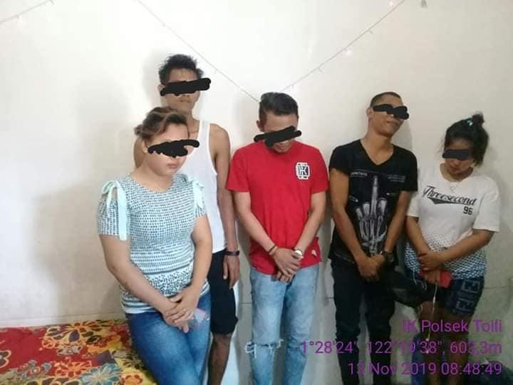 Sedang Asyik Pesta Miras Diciduk Polisi