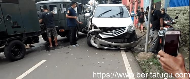 Kecelakaan Di Jalan Cilangkap Jakarta Timur