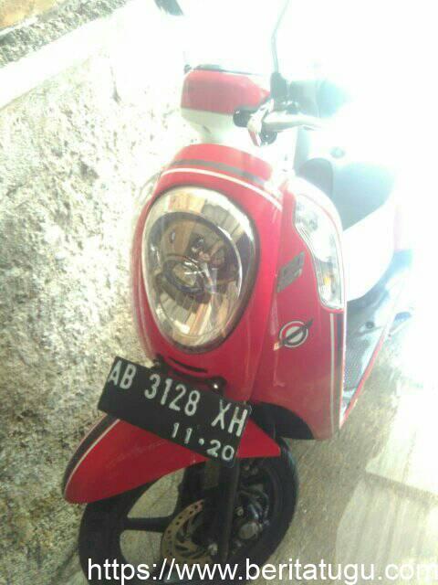 Info Kehilangan : Telah Hilang Motor Honda Scopy Plat AB 3128 XH