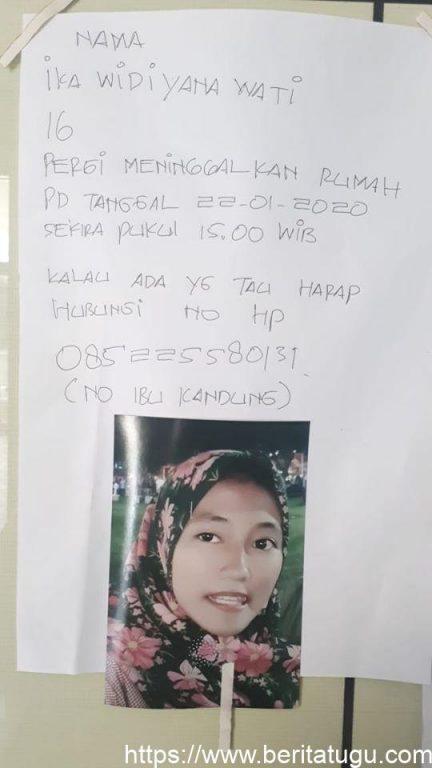 Info Orang Hilang (Ika Widiyana Wati)