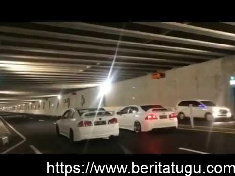 Baru Diresmikan ! Underpass Bandara Baru NYIA Dipake Balapan ?