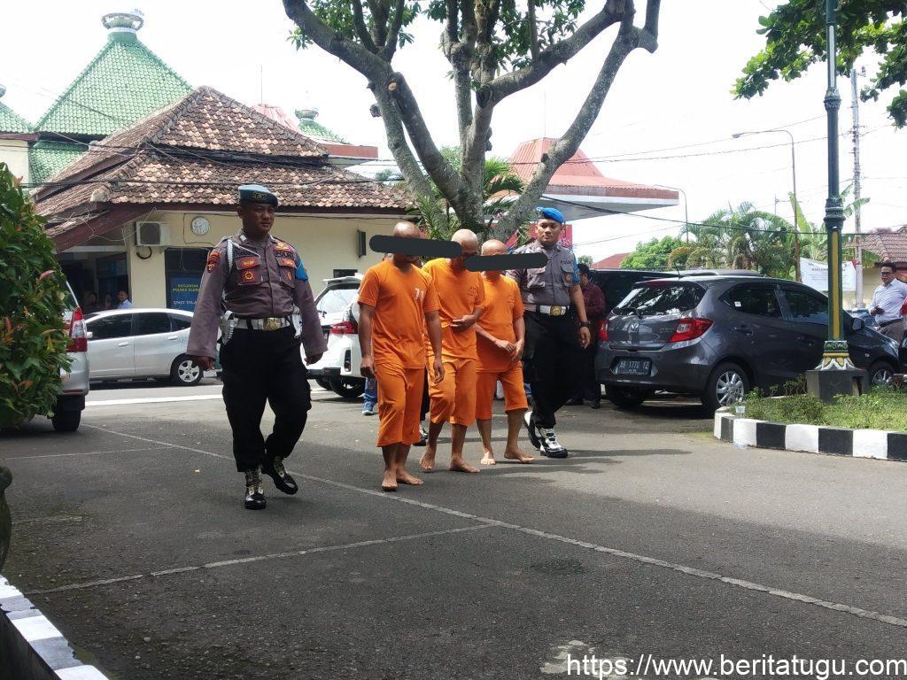 Polisi sudah berhasil mengamankan pembina Pramuka yang menjadi tersangka pada kasus susur sungai SMP N 1 Turi