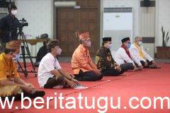 Perkuat Dimensi Spiritual untuk Berantas Covid-19, Pemerintah Provinsi Jawa Tengah menggelar doa bersama antarumat beragama