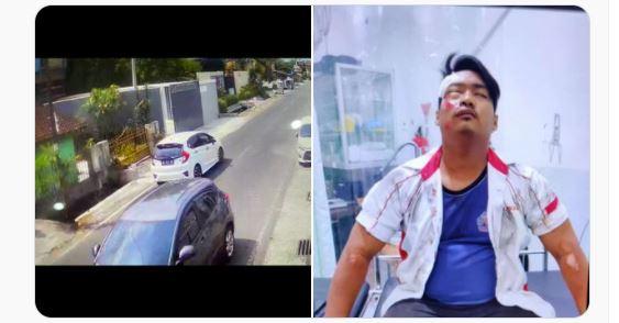 Dicari Pelaku Tabrak Lari Menggunakan Mobil Jazz di Jalan Godean Km4.5, Akibatnya Seorang Pria Harus Dirawat di RS